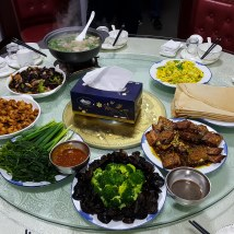 Qingyuan Forest dinner