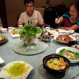 Shenyang send-off dinner