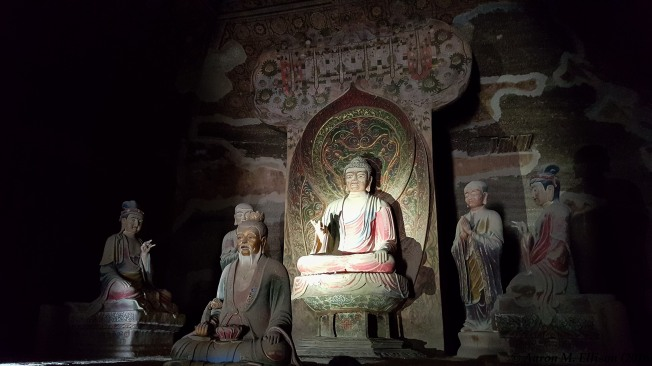 Tang Dynasty Buddha and entourage