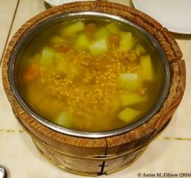 Sweet millet congee