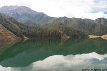 Glacial melt-river reservoir: the water supply for Xining