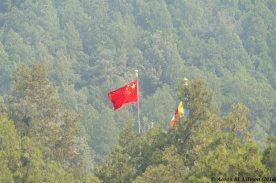 The flag flies over Badachu