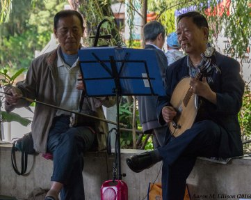Musicians at Lianhuachi Park