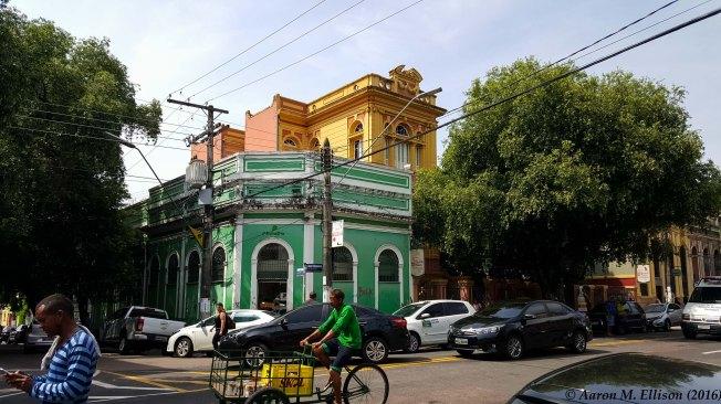 Eduardo Ribiero's house (yellow)