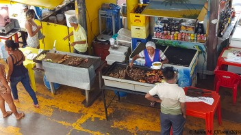 Lunchonette at the Manaus docks
