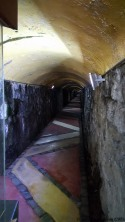 Entrance tunnel to Polanco