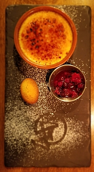 creme brulee at 44 hill street, belfast