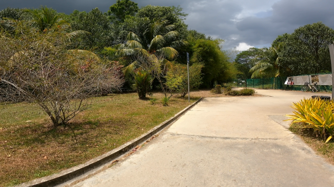 Gate at Kranji dormitory